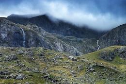 Cold Mountain Landscape