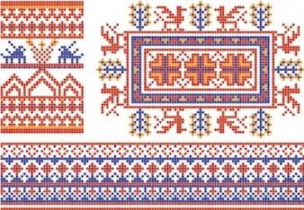 Collection of Belorussian National Pattern2