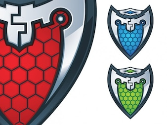 Color shields pack
