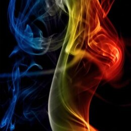 color smoke  smell  flow