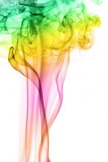 colored smoke  texture