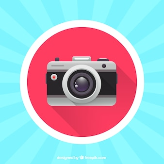 Colorful analog camera