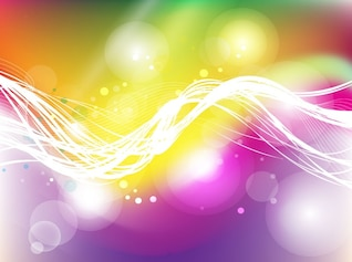 Colorful energy light motion background