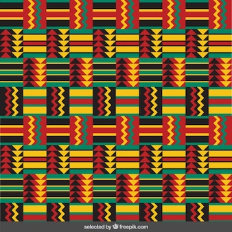 Colorful ethnic pattern with arrowhead
