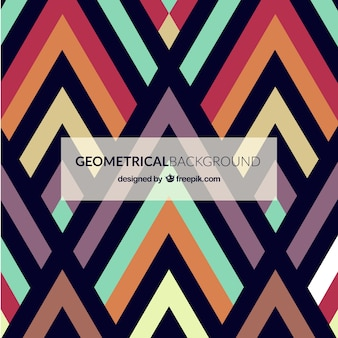 Colorful geometrical background