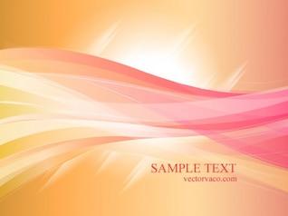 Colorful Orange & Rose Background