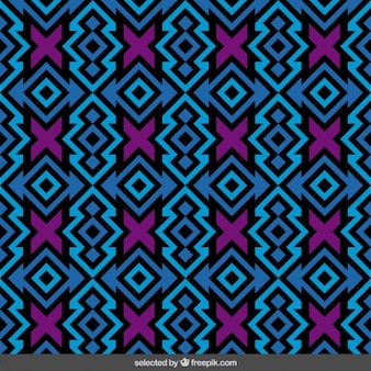 Colorful pattern with cross