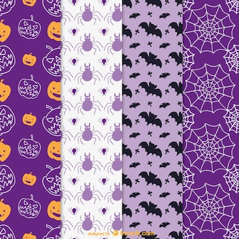 Colorful patterns for Halloween