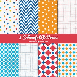 Colorful patterns pack