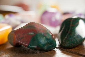 Colorful pebbles stones