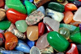 colorful stones texture   hdr  range