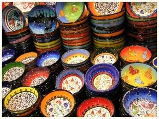 Colorfull bowls