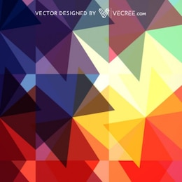 coloured geometrical abstract pattern