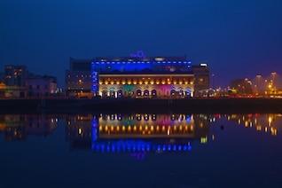 Coloured night lights
