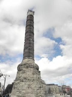 column of constantine in istanbul
