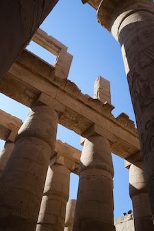 カルナック寺院の柱
