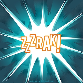 Comic sound effect background