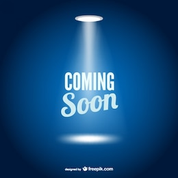 Coming soon web page template