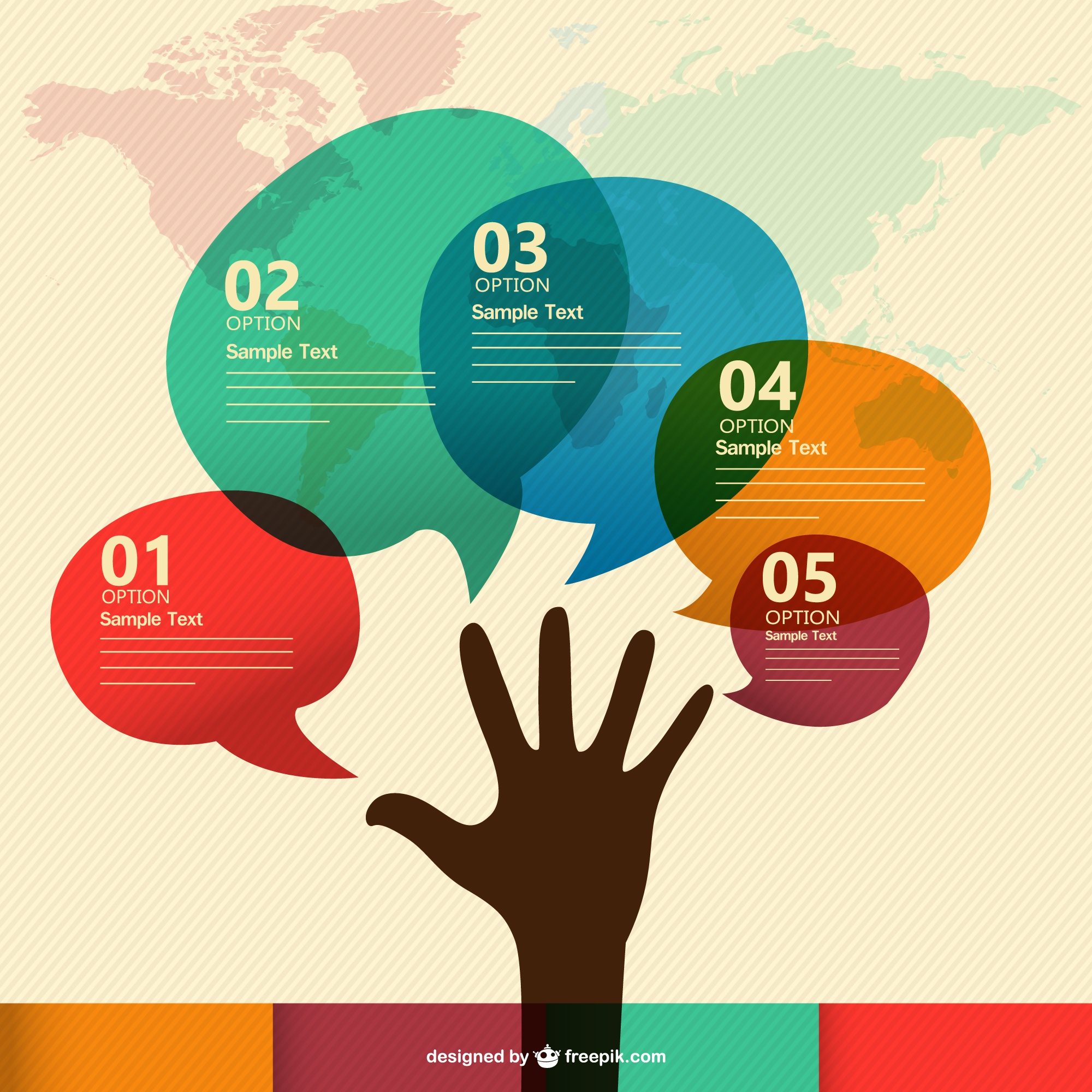 Communication infographic free presentation