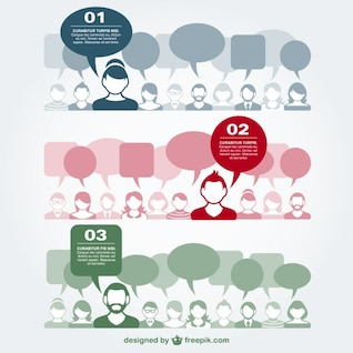 Communication vector flat illustration
