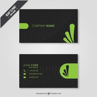 Company card design