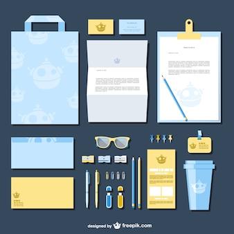 Company identity templates