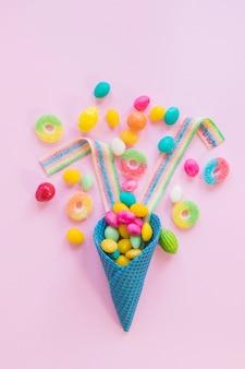 いろいろなお菓子の構成