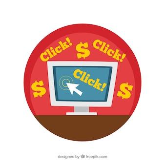 computer clicks