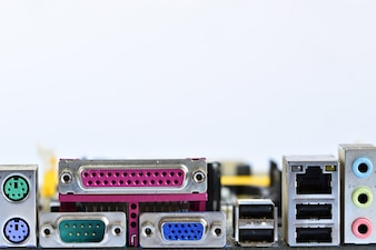 Connectors of motherboard