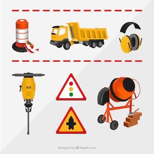 Construction elements collection