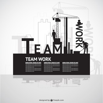 Construction team work template