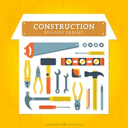 Construction tools collection