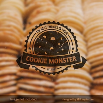 Cookie monster badge