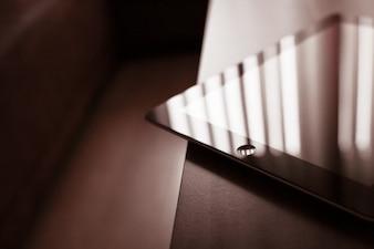 Corner of the iPad free photo