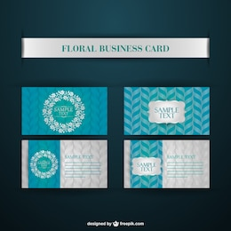 Corporate identity business vector cards