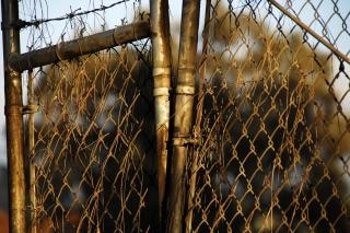 Corroded & Rusted Chain-Link Fence