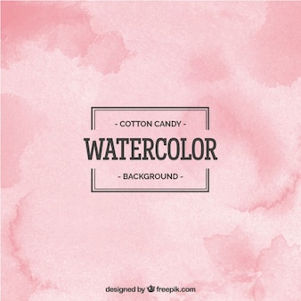 Cotton cady watercolor background