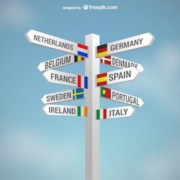 Countries signs
