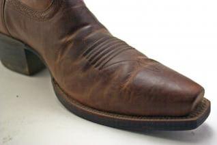 Cowboy boots, farm