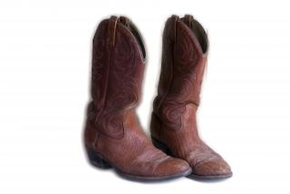 Cowboy Boots, isolated