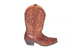 Cowboy boots, ripped