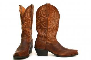 Cowboy boots, clothing