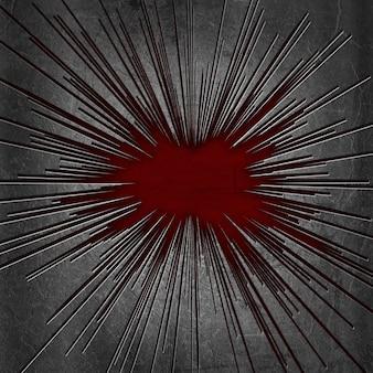 Cracked metal texture background with grunge underlay