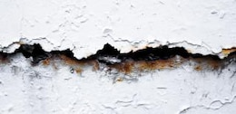cracked wall   crack
