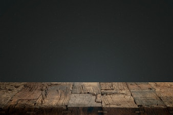 Cracked wood with a dark background