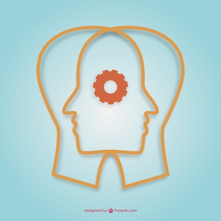 Creative minds vector design