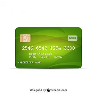 Credit card vector
