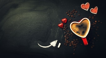 Crema dark background creative dark day