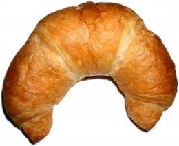 Croissant, baked
