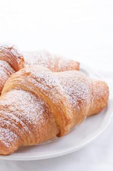 Croissants sugar